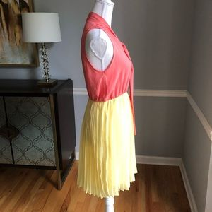 Everly pleated dress